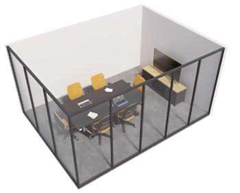Single glazed - 2 sided room