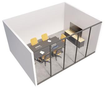 Single glazed - Inline partition